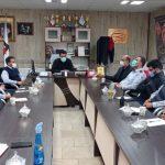 جلسه شوراي معاونين در دفتر مدير عامل سازمان برگزار گرديد