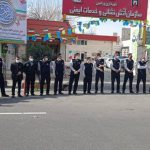 حضور پرسنل سازمان آتش نشانی ورامین جهت تامین ایمنی مراسم يوم الله ٢٢بهمن